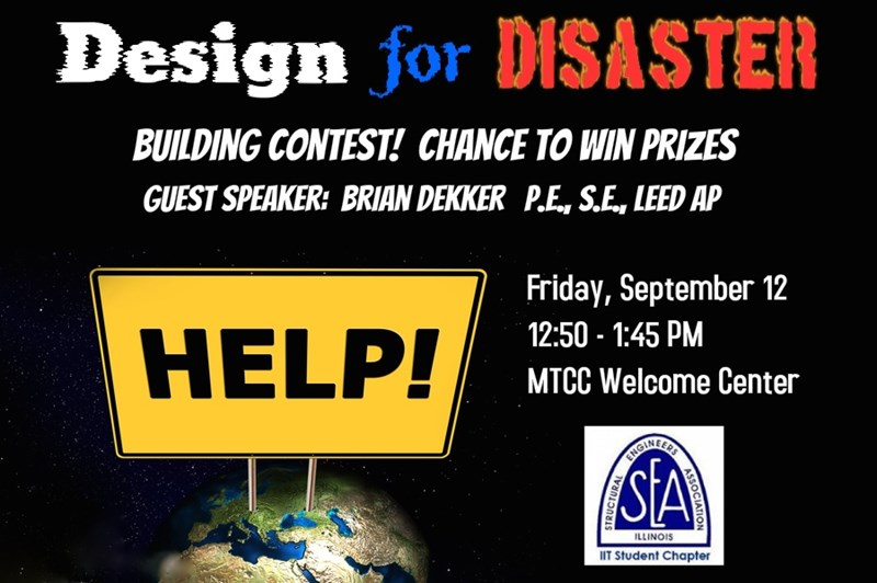 "Brian Dekker Gives ""Design for Disaster"" Talk"